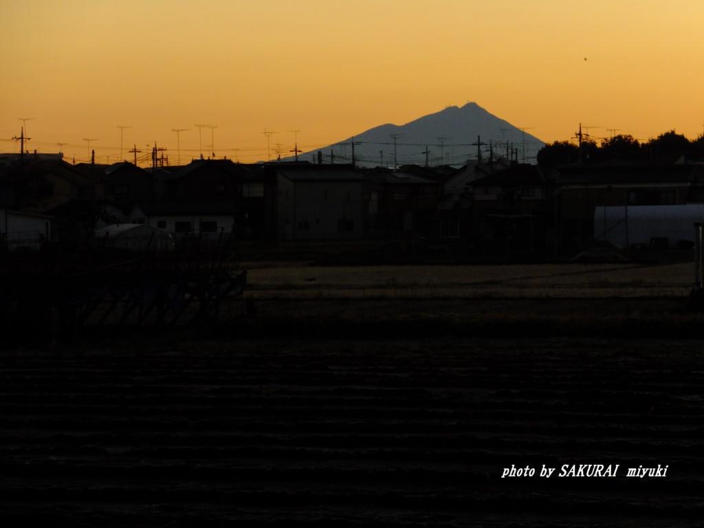 筑波山  2015.12.18