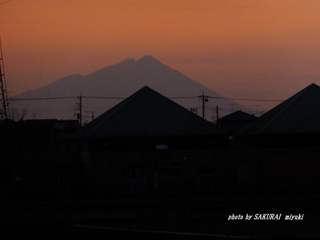 筑波山  2015.12.23