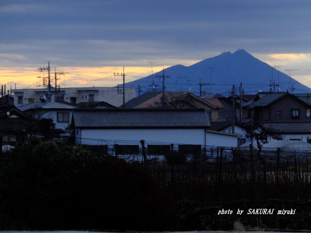 筑波山  2015.12.31