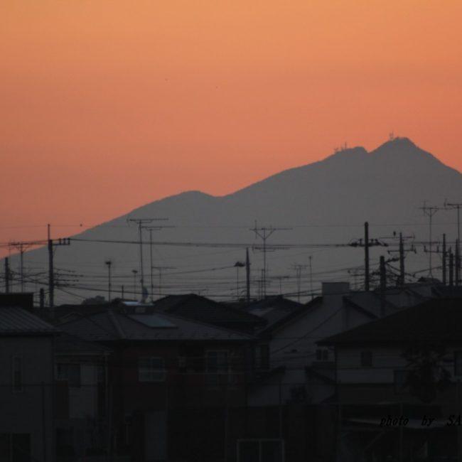 筑波山  2016.1.28