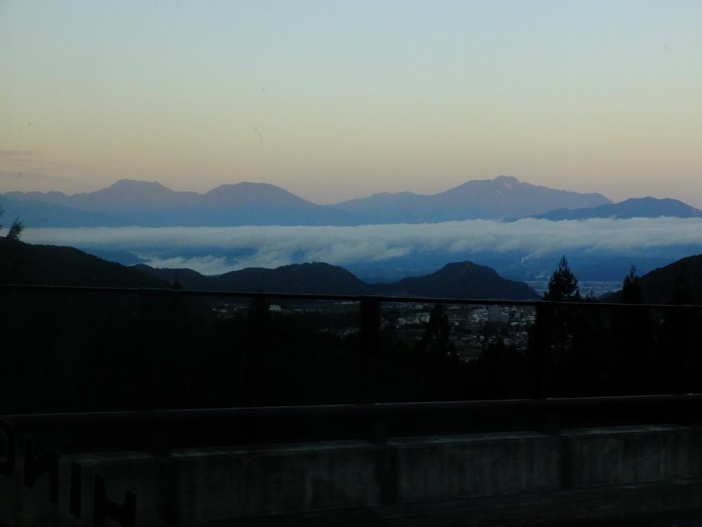 北信五岳(飯綱山見えず)