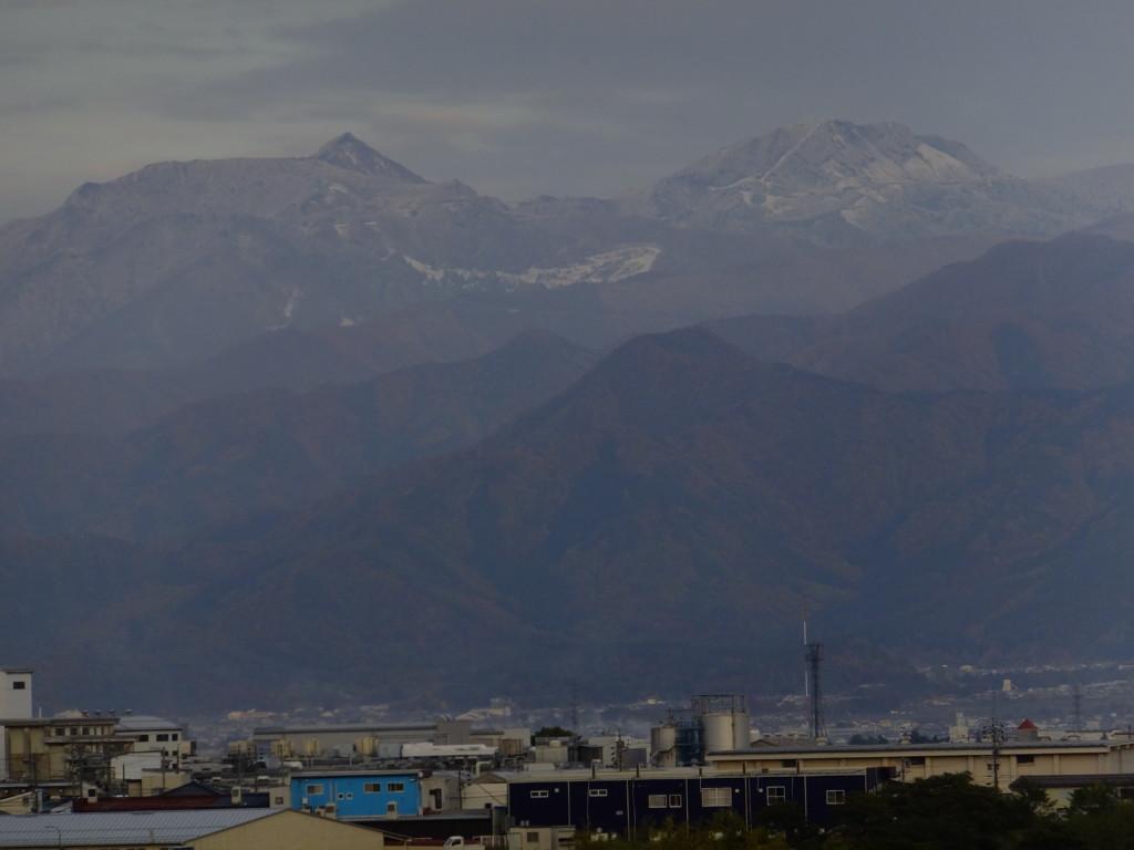 志賀高原の山々  2016.11.10