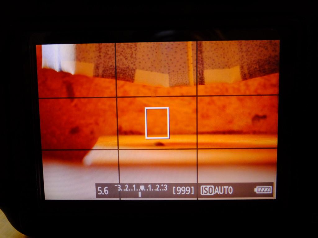 キヤノン EOS60Dの画面 狭くならない