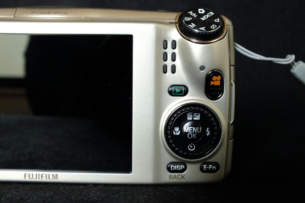 F1000EXRの操作ボタン