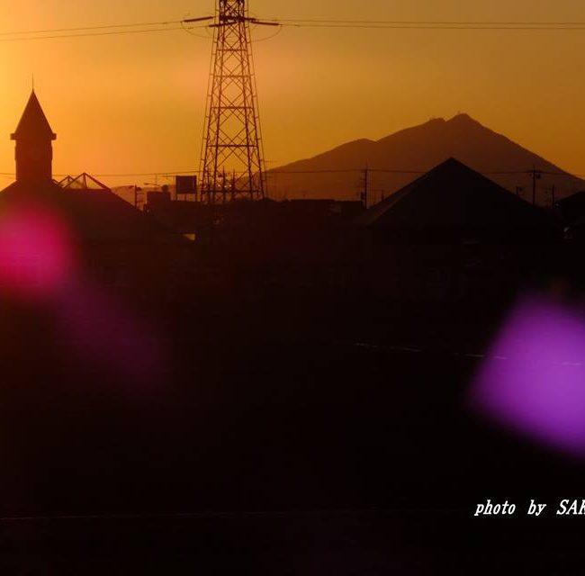 今朝の筑波山 2015.3.11