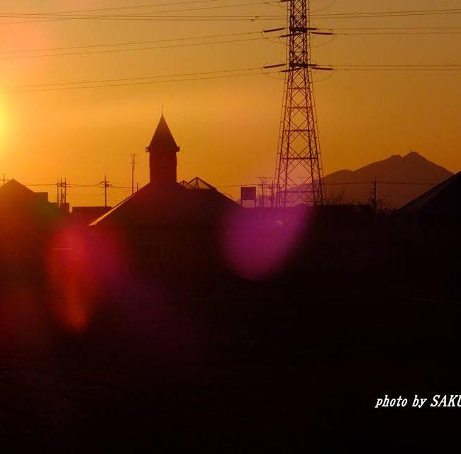 今朝の筑波山 2015.3.13