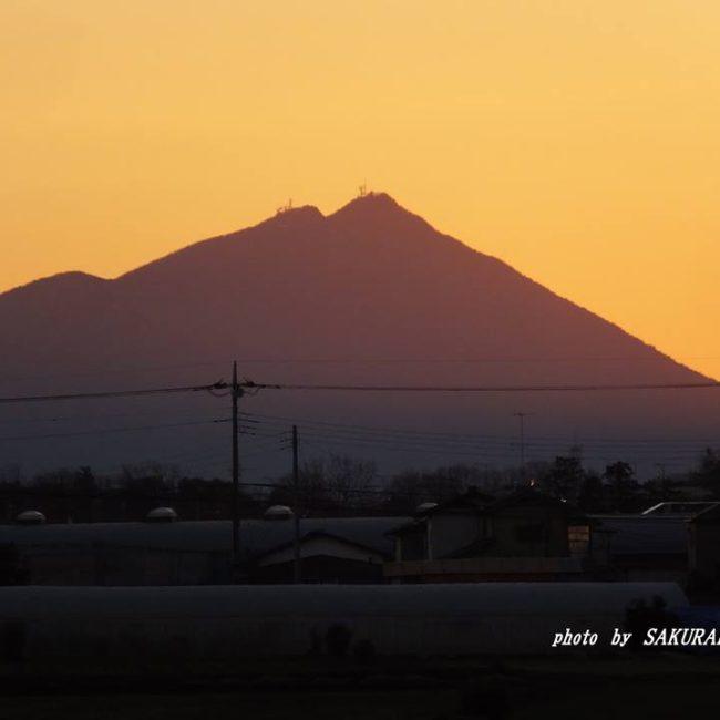 今朝の筑波山 2015.2.1