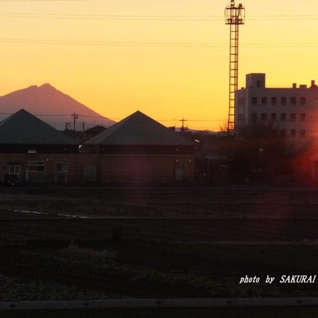 今朝の筑波山 2015.2.2