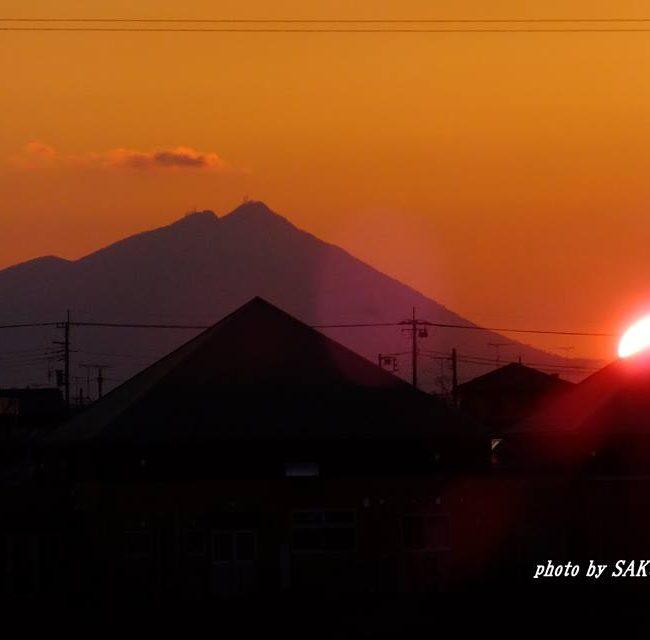 今朝の筑波山 2015.2.15