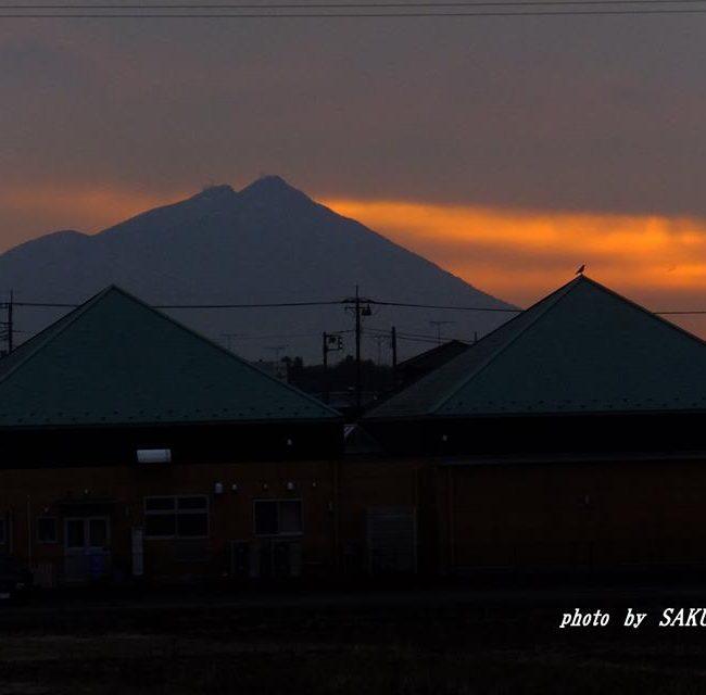 今朝の筑波山 2015.2.17