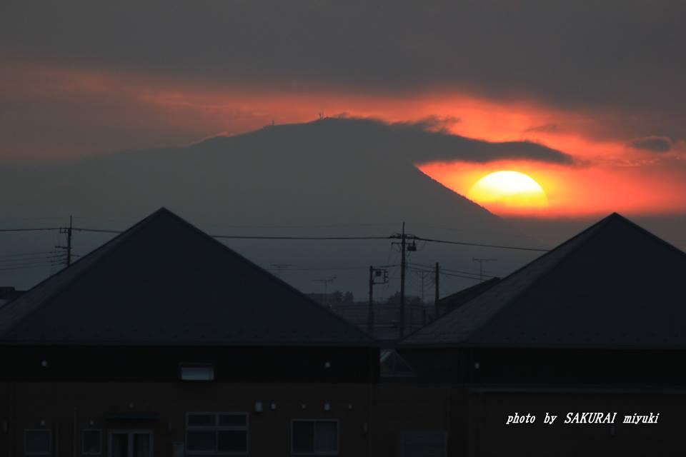 今朝の筑波山 2015.219