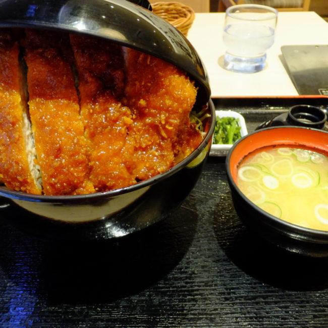 ソースかつ丼 明治亭 2017.1.23