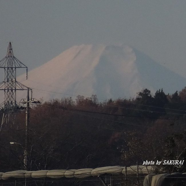 富士山 2014.12.7