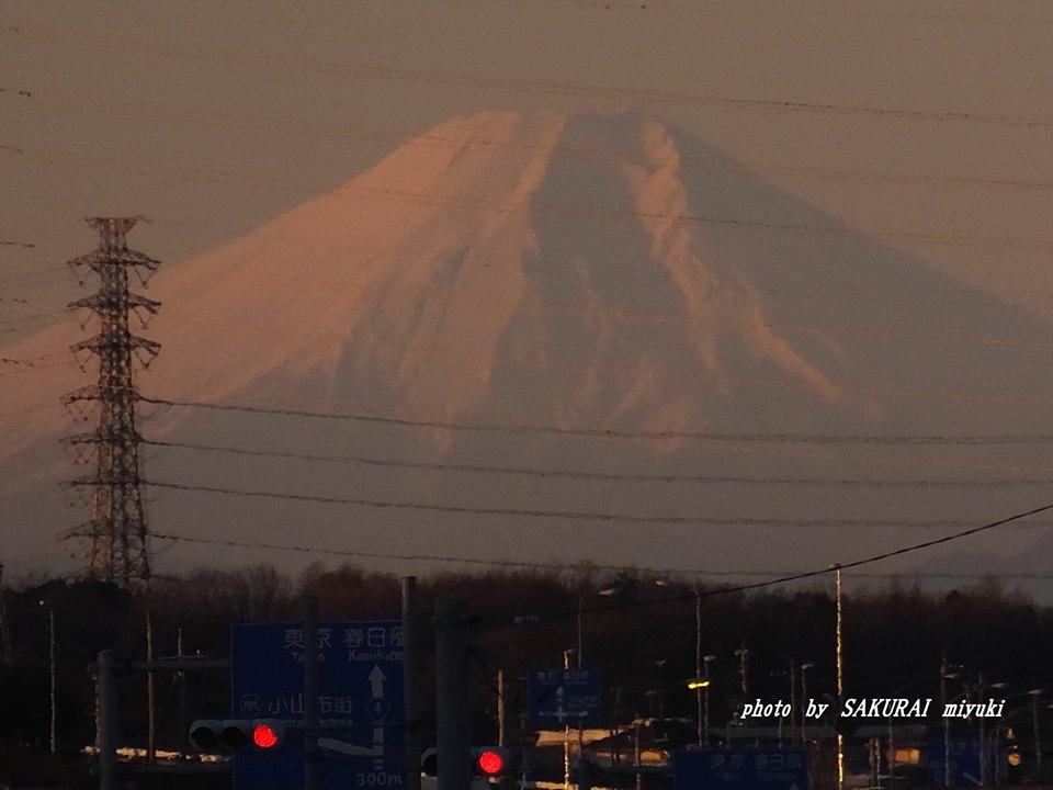 富士山 2014.12.22