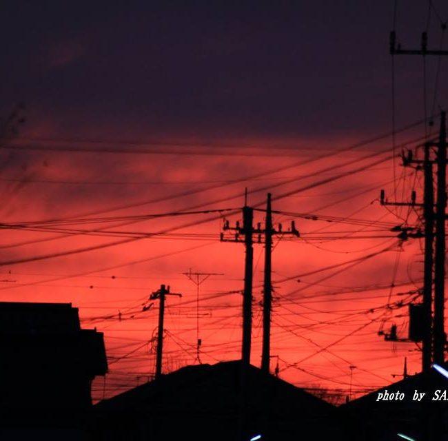 朝焼け 2015.1.4