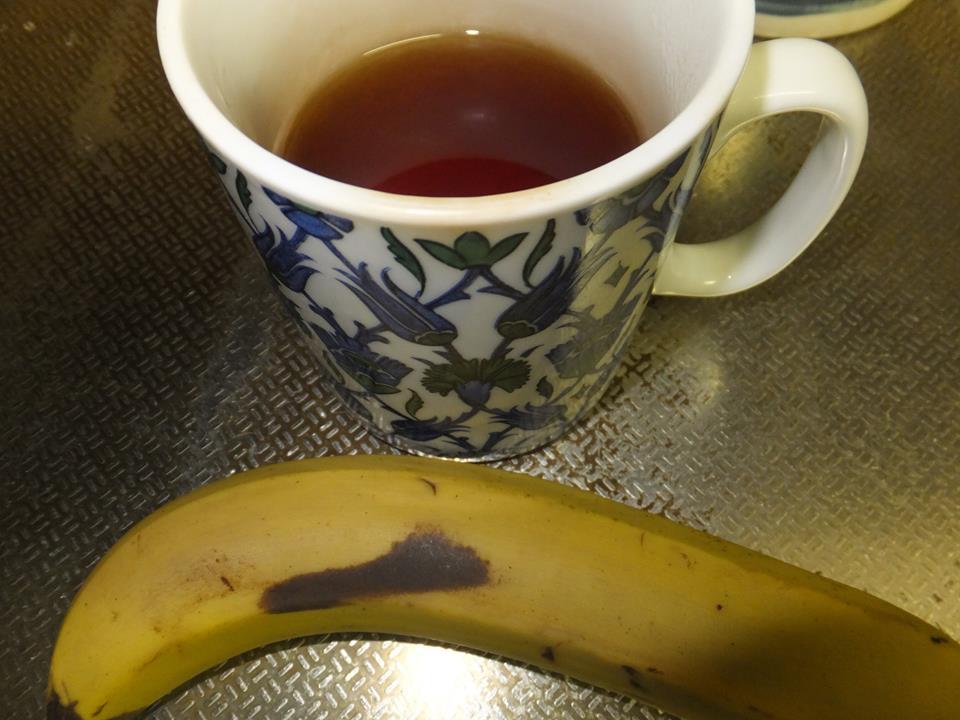 バナナと紅茶 2015.1.10