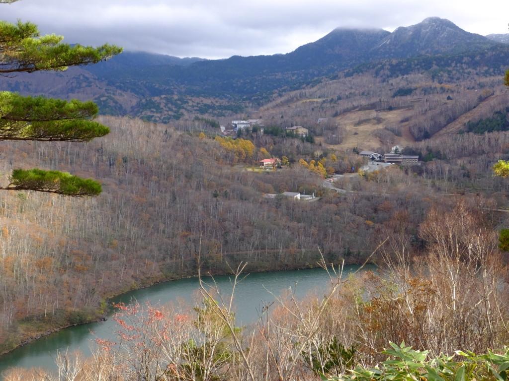 旭山山頂より琵琶池 2016.11.3