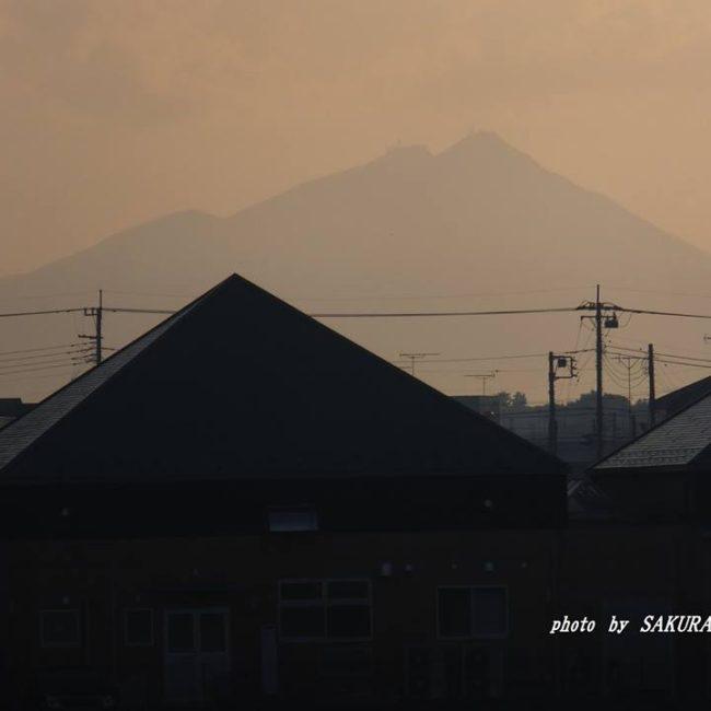 今朝の筑波山 2014.10.20