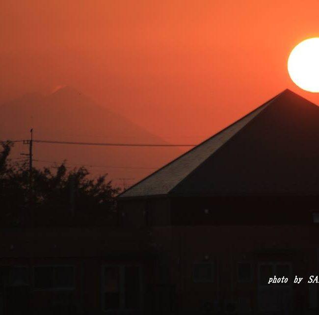 今朝の筑波山 2014.10.25