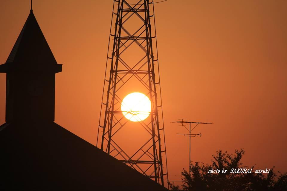あがった太陽 2014.10.26