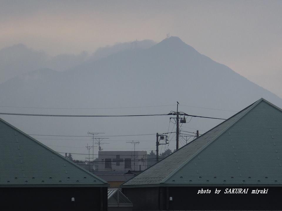 今朝の筑波山 2014.9.17