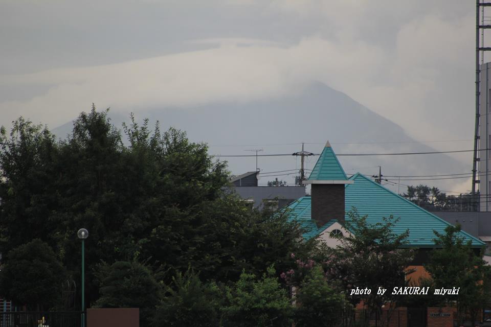 今朝の筑波山 2014.8.29