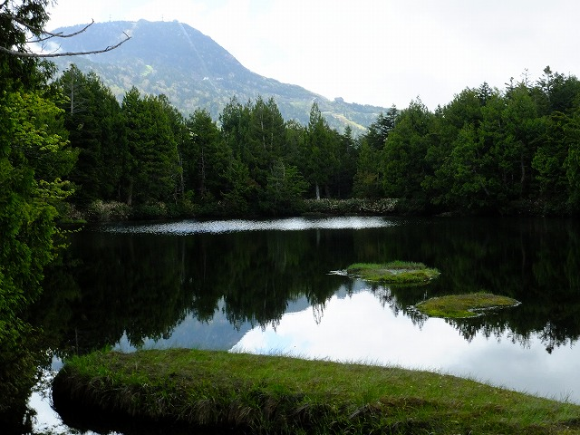渋池と横手山