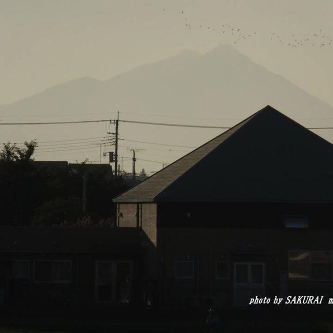 今朝の筑波山 2014.8.6