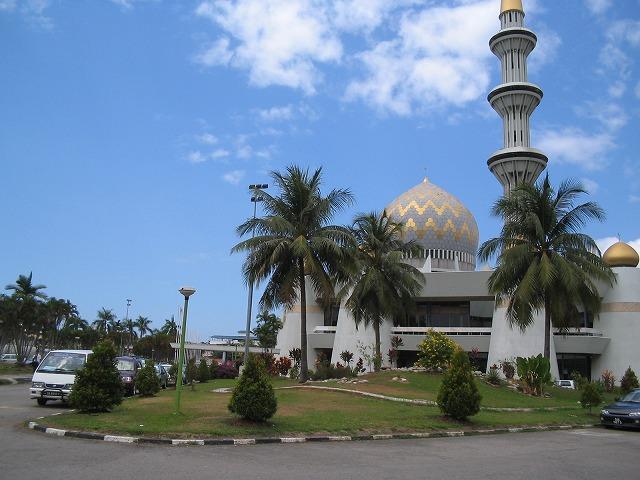 サバ州立モスク マレーシア 2005.2.8