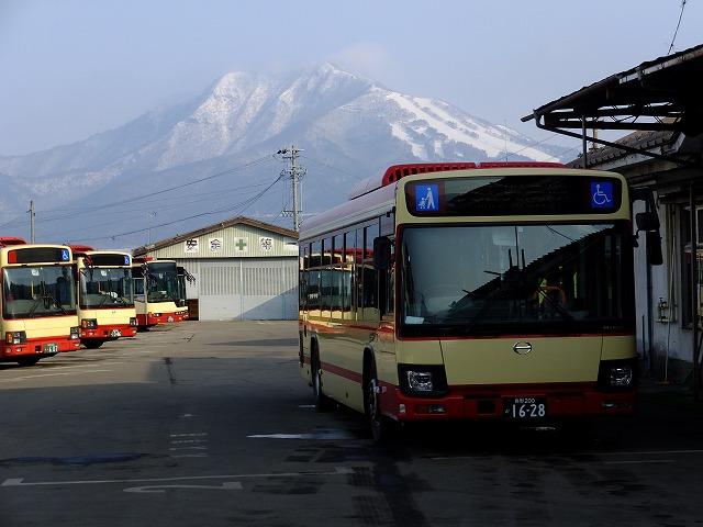 湯田中駅発奥志賀高原行きバス
