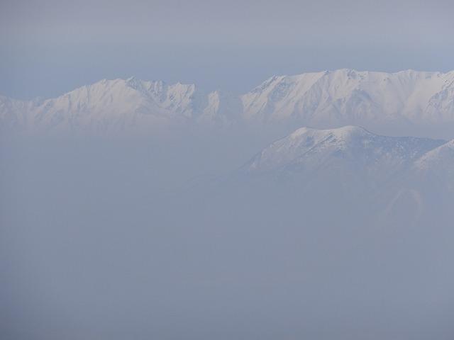 唐松岳 焼額山頂から