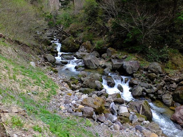 幕岩渓谷上流