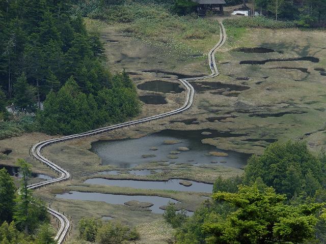 四十八池湿原@裏志賀山