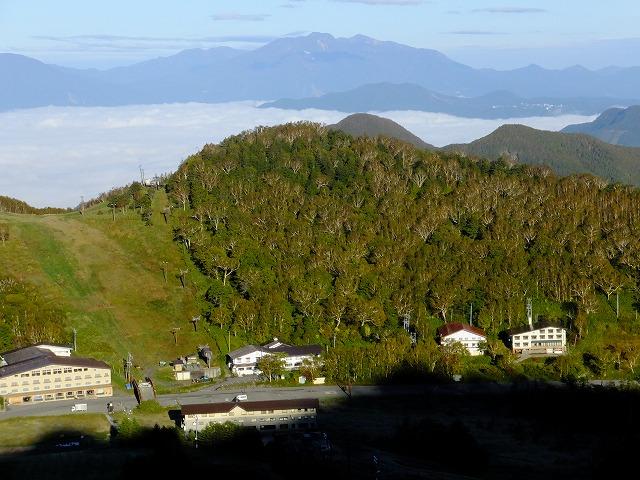 西館山と妙高山