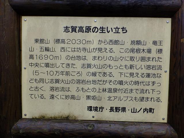 志賀高原の生い立ち