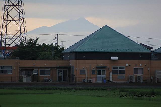 今朝の筑波山  2014.6.30
