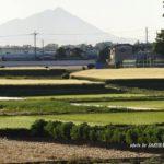今朝の筑波山 2014.5.18 栃木県小山市