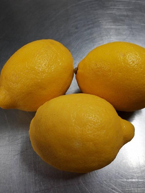 たぶん輸入のレモン