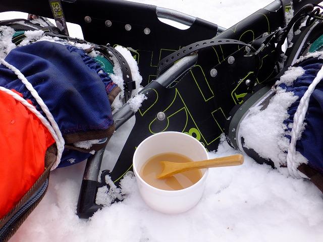 氷ミルクのあとは、あったかい紅茶