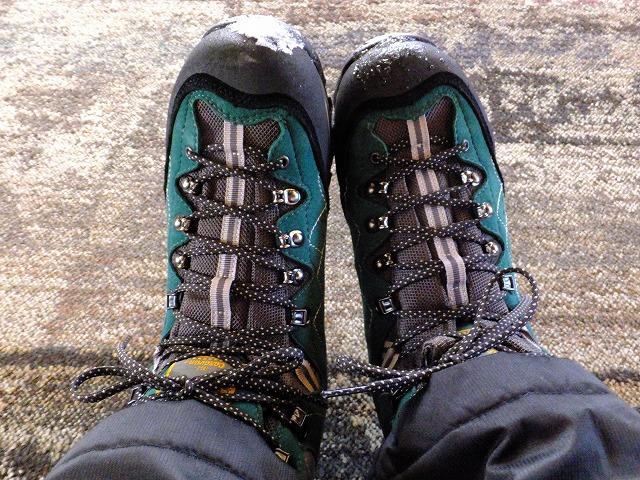 防水の登山靴 2020.2.24