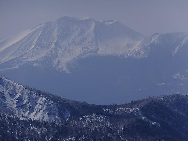 浅間山 横手山展望台から 2020.2.24