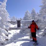 志賀高原 横手山スノーシューハイキング 行ってきた  2020.2.24
