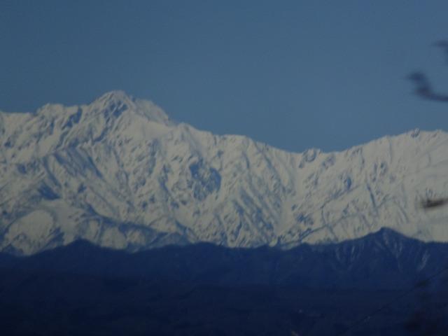 唐松岳から五竜岳 2020.3.9