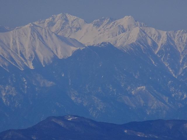 奥穂高岳、涸沢岳、北穂高岳 2020.3.9 西館山より