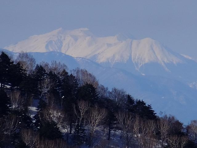 御嶽山 2020.3.9 西館山より