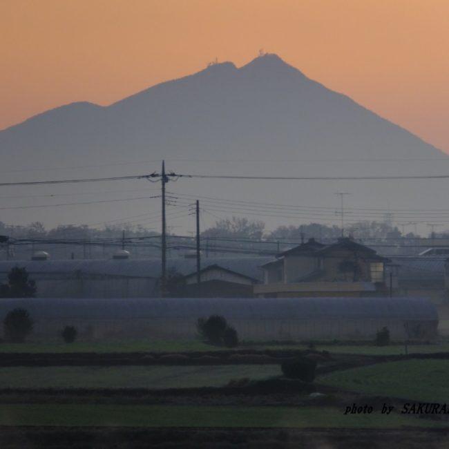 筑波山  2015.12.1