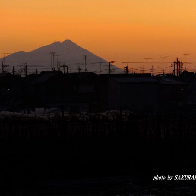筑波山 2015.12.9