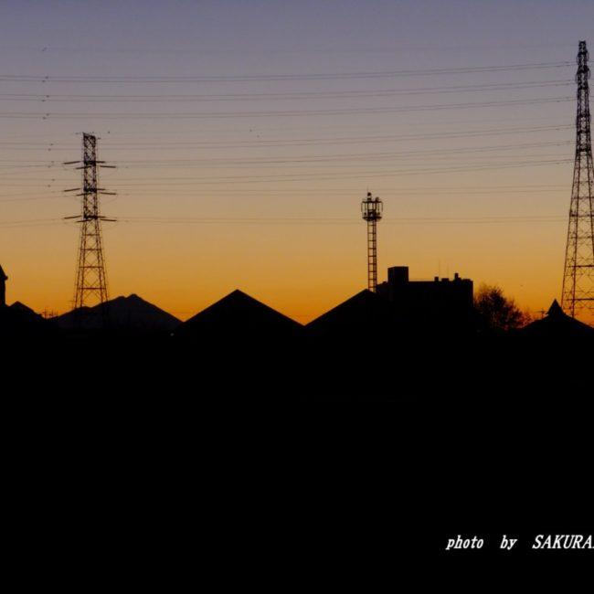 夜明け前  2016.1.21