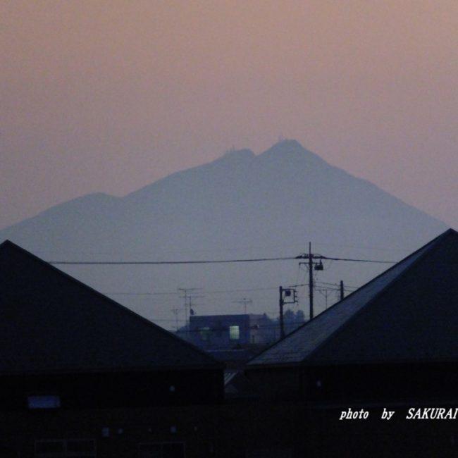 筑波山  2016.1.7