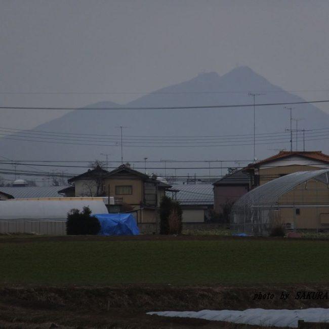 今朝の筑波山 2015.1.21